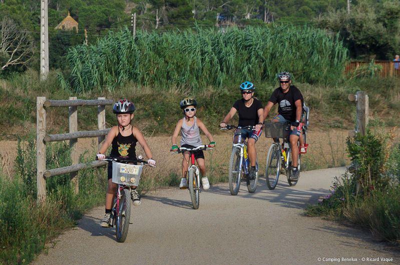 Faire du vélo à Cap Roig