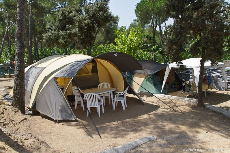 Louer une tente au camping
